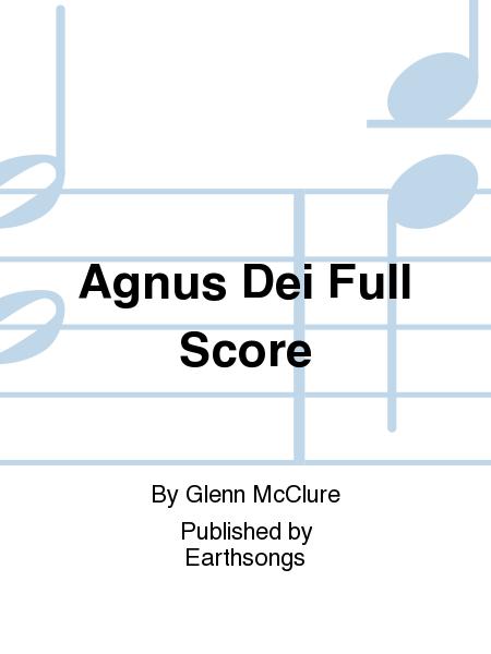 Agnus Dei Full Score