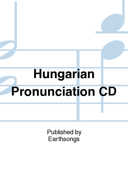 Hungarian Pronunciation CD
