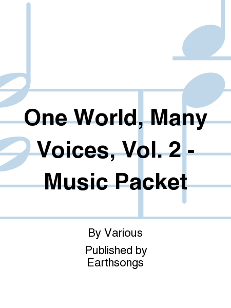 One World, Many Voices, Vol. 2 - Music Packet