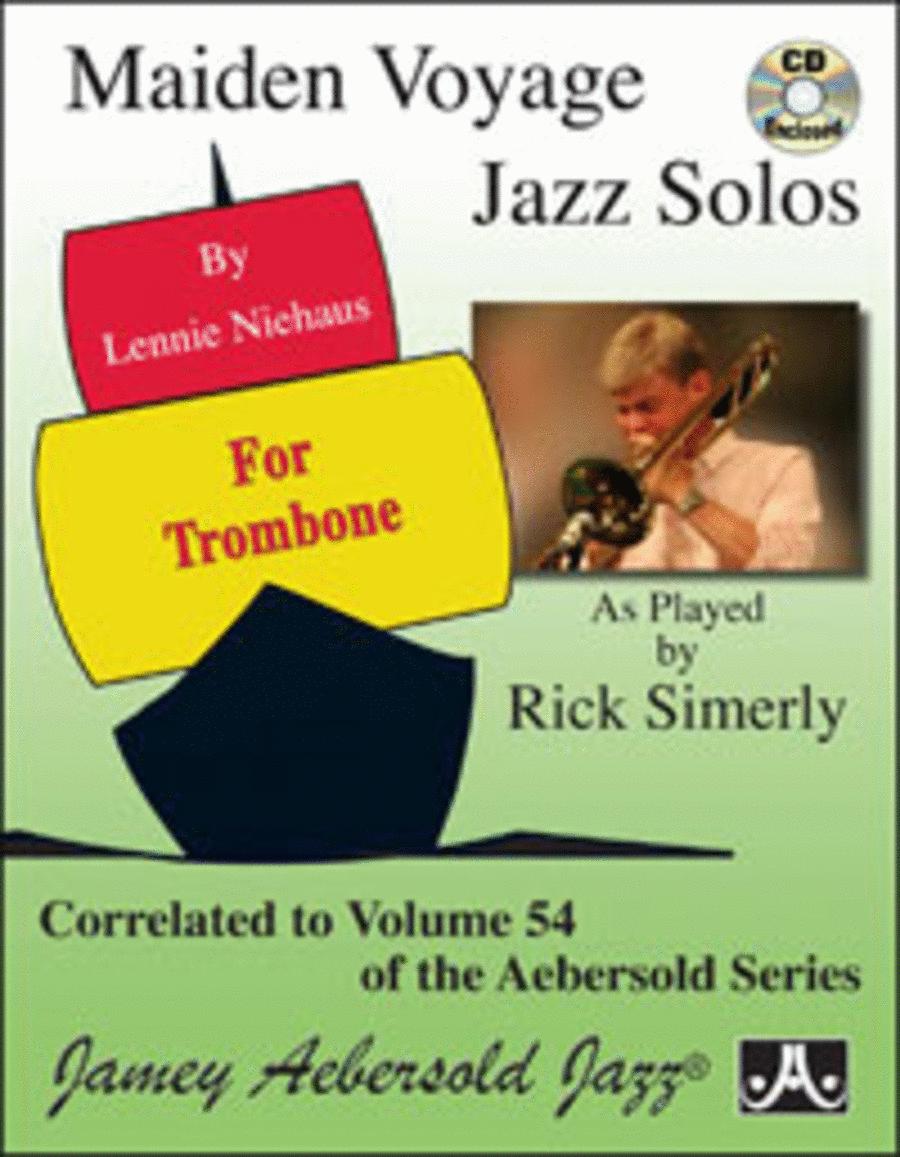 Vol. 54 Maiden Voyage Trombone Solos