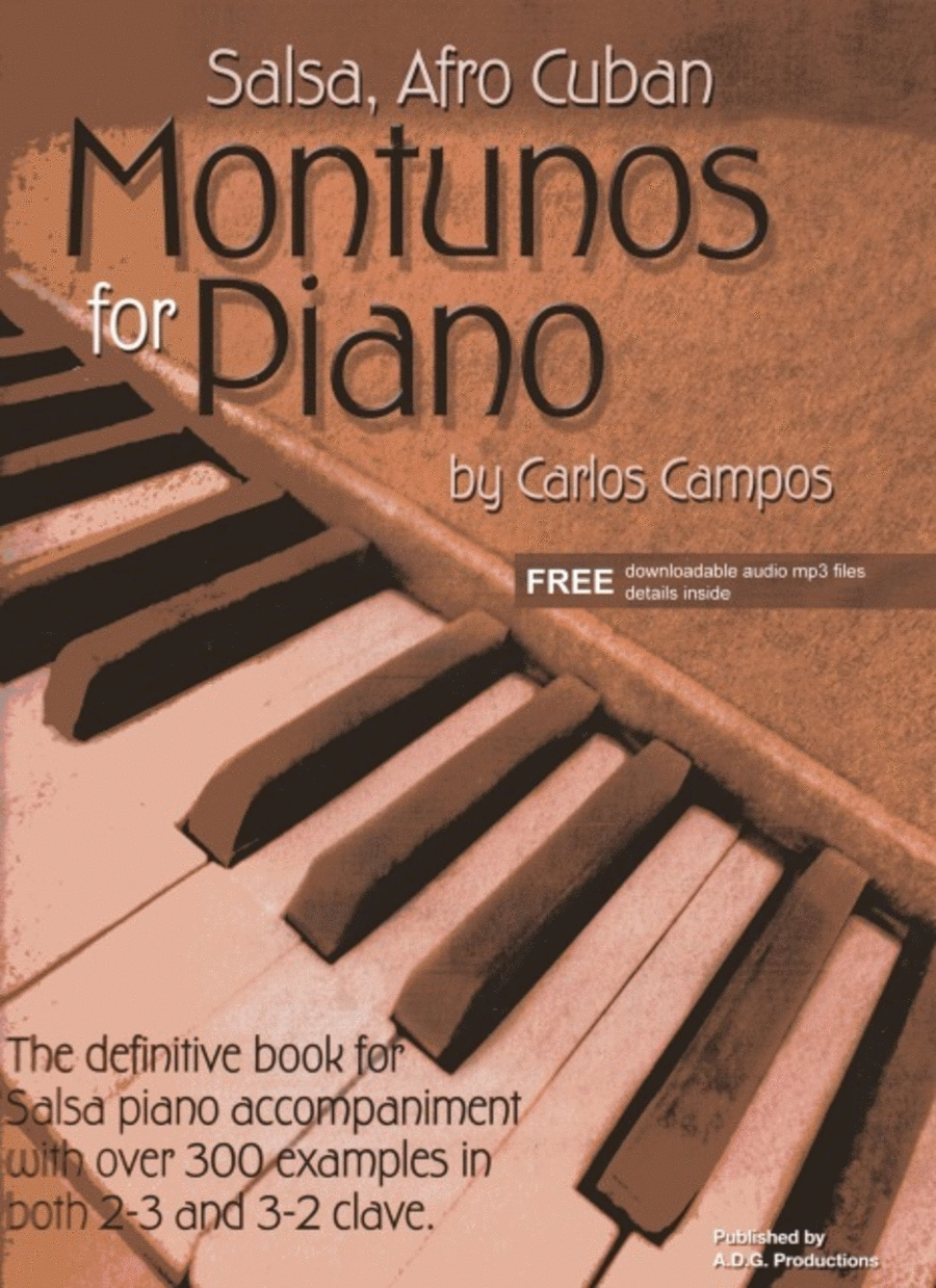 Salsa And Afro Cuban Montunos For Piano