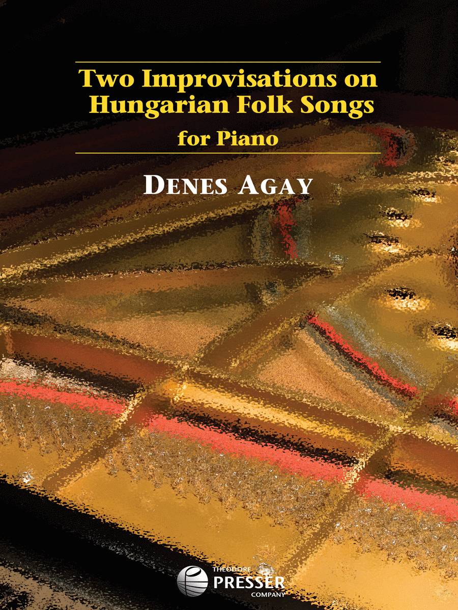 Two Improvisations On Hungarian Folk Songs