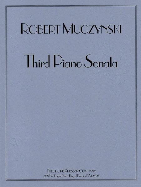 Third Piano Sonata