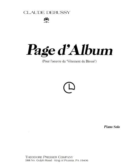 Page D'album