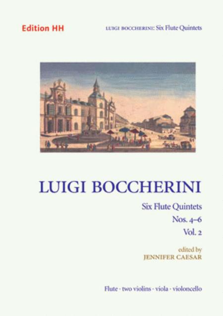 Six flute quintets - Volume 2