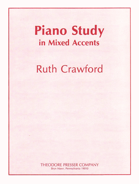 Piano Study in Mixed Accent