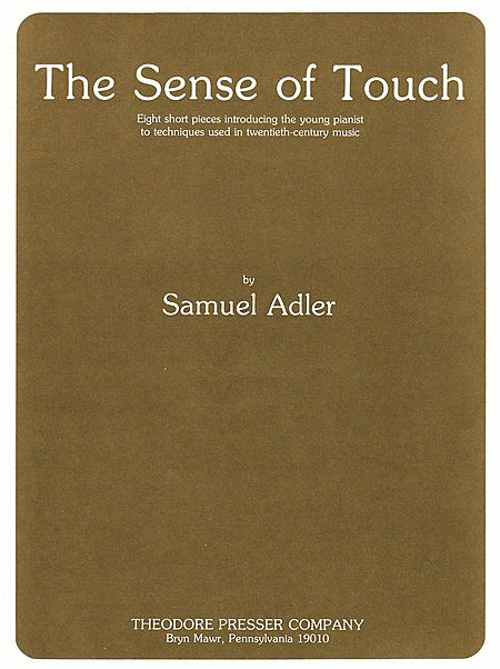 The Sense of Touch