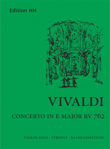 Concerto in E major (RV 762)
