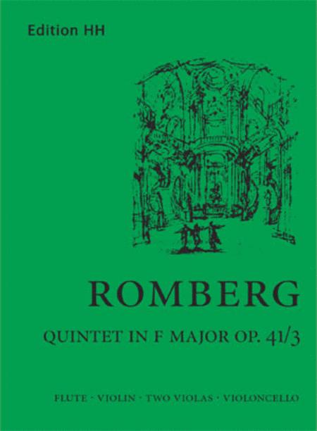Flute quintet in F major (Op. 41/3)
