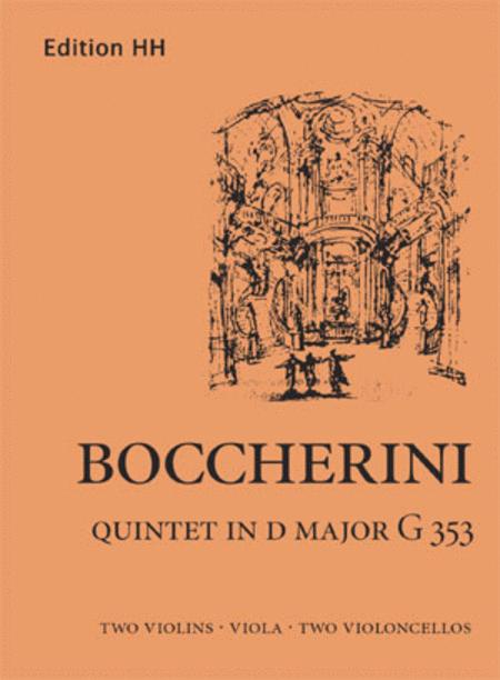 Quintet in D major [G353]