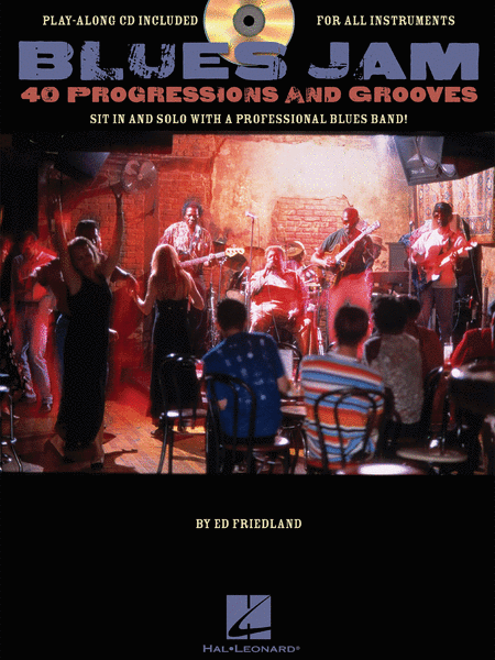 Blues Jam - 40 Progressions and Grooves