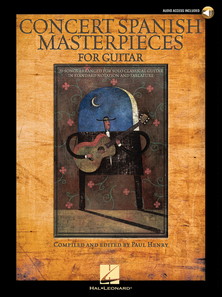 Concert Spanish Masterpieces for Guitar