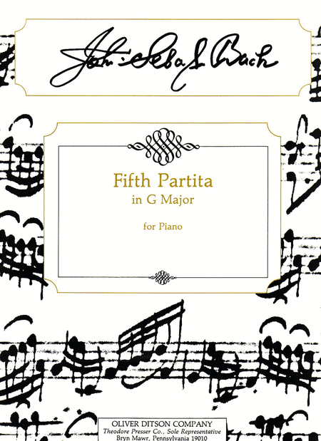 Fifth Partita in G Major
