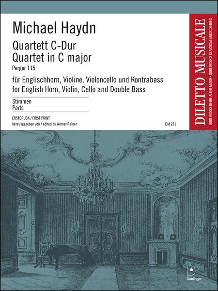 Quartett C-Dur P 115