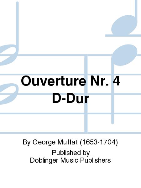 Ouverture Nr. 4 D-Dur