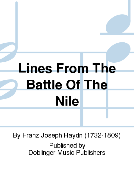 Lines From The Battle Of The Nile