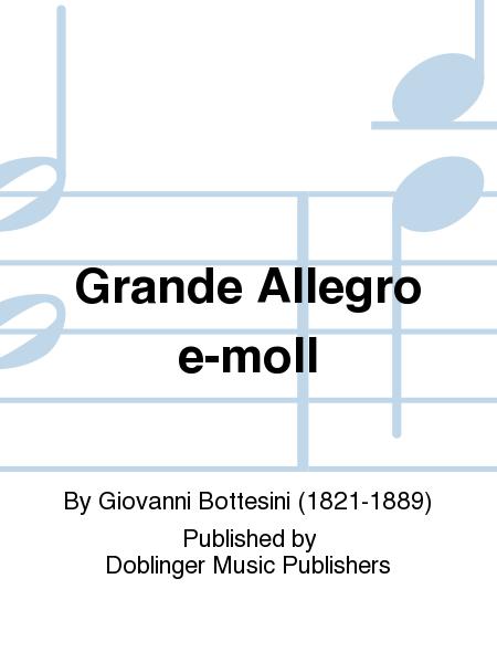 Grande Allegro e-moll