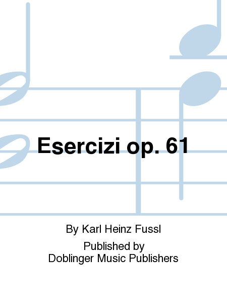 Esercizi op. 61