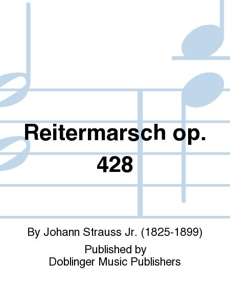 Reitermarsch op. 428