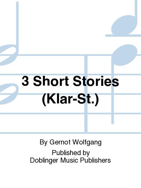 3 Short Stories (Klar-St.)