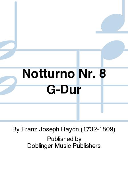 Notturno Nr. 8 G-Dur