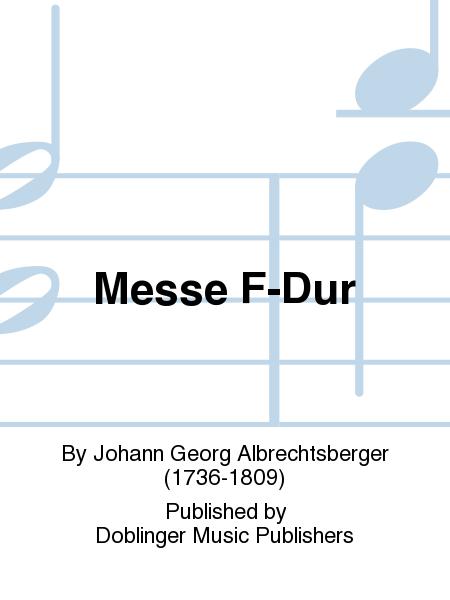 Messe F-Dur