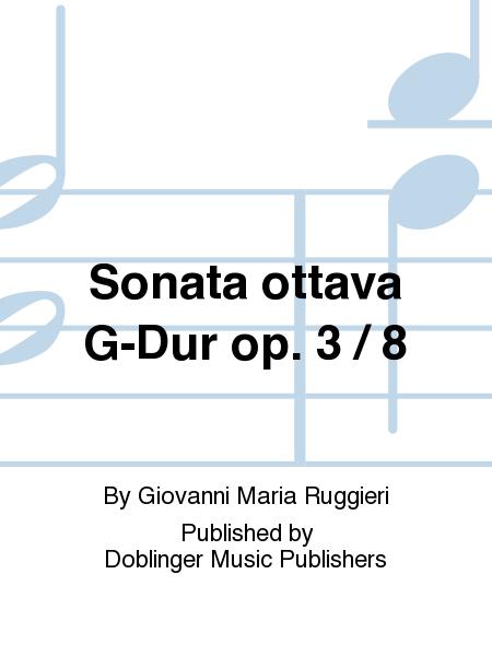 Sonata ottava G-Dur op. 3 / 8