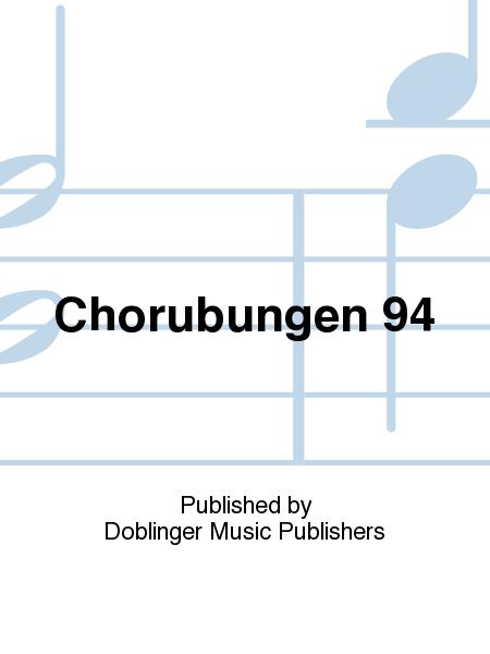 Chorubungen 94
