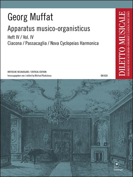 Apparatus musico-organisticus Band 4