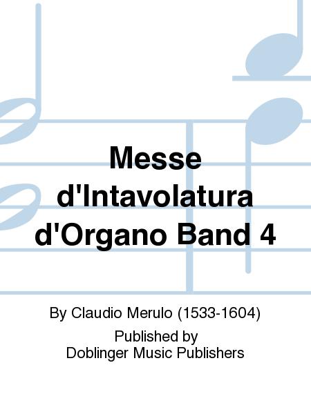 Messe d'Intavolatura d'Organo Band 4
