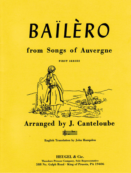Bailero from Songs of Auvergne