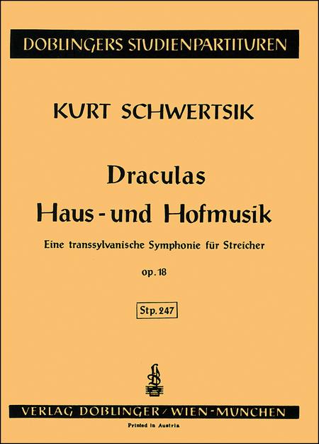 Draculas Haus- und Hofmusik