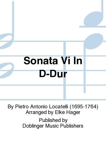 Sonata Vi In D-Dur