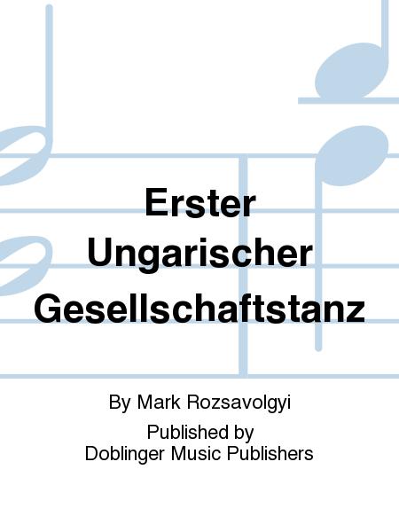 Erster Ungarischer Gesellschaftstanz