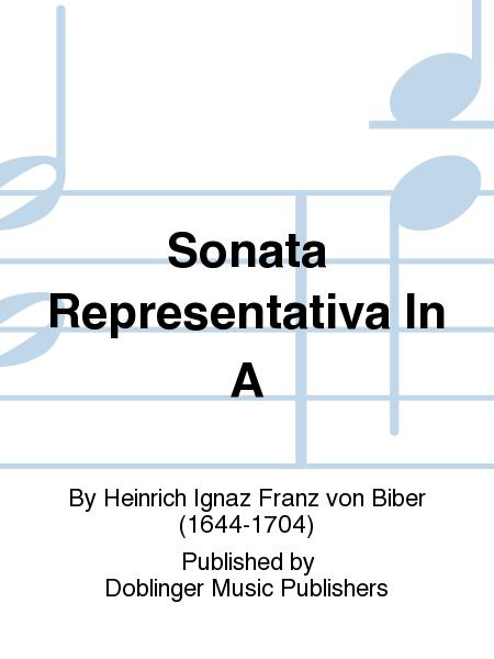 Sonata Representativa In A