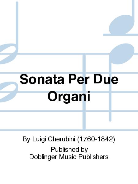 Sonata Per Due Organi