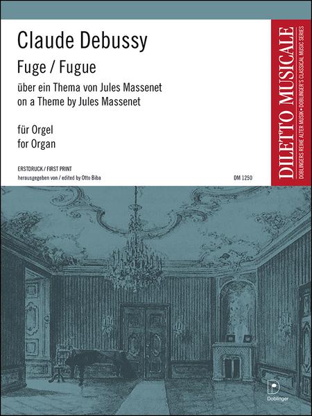 Fuge uber ein Thema von Jules Massenet