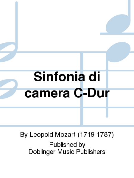 Sinfonia di camera C-Dur