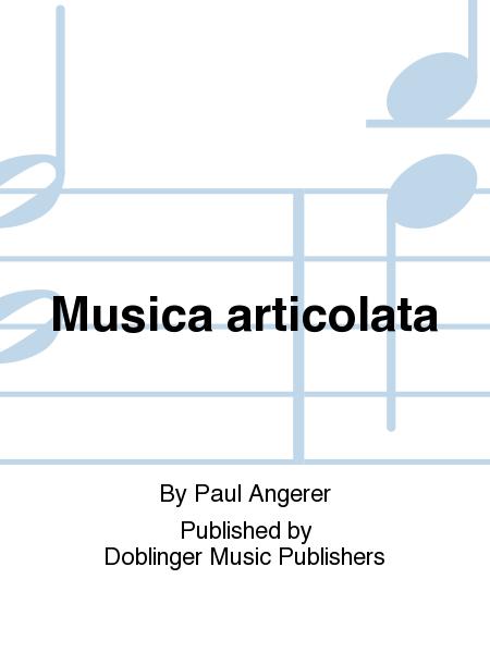 Musica articolata