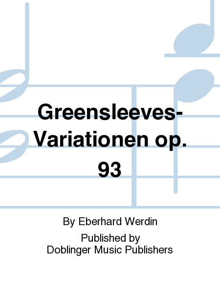 Greensleeves-Variationen op. 93