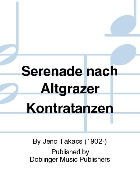 Serenade nach Altgrazer Kontratanzen