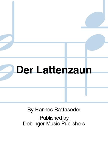Gedicht Der Lattenzaun : der lattenzaun sheet music by hannes raffaseder sheet ~ Lizthompson.info Haus und Dekorationen