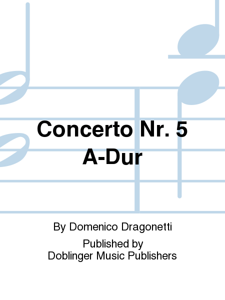 Concerto Nr. 5 A-Dur