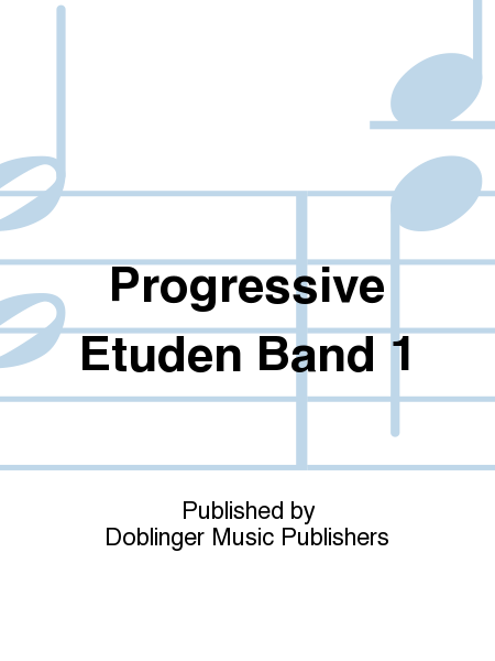 Progressive Etuden Band 1