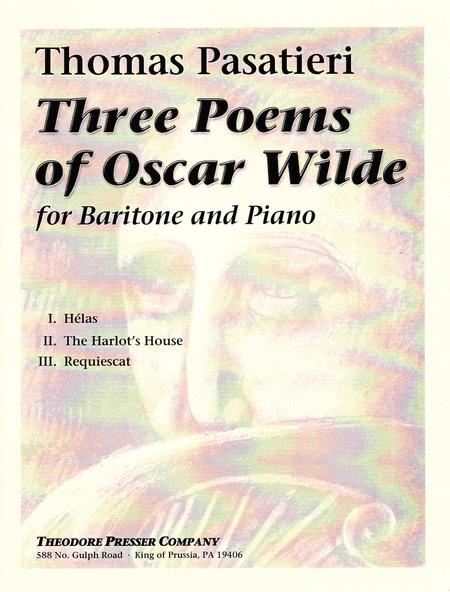 Three Poems of Oscar Wilde