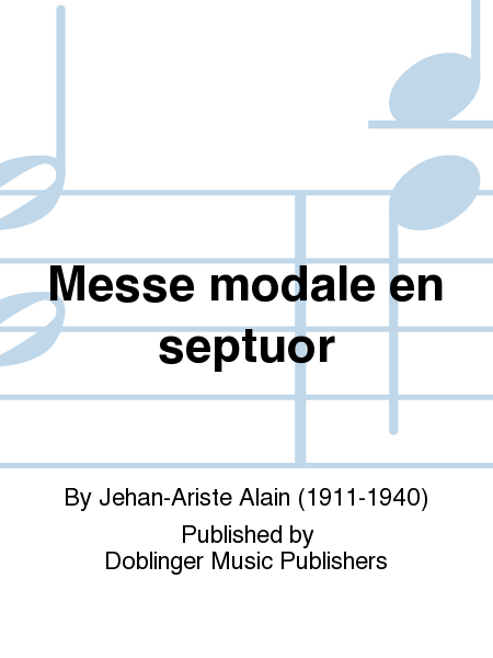 Messe modale en septuor