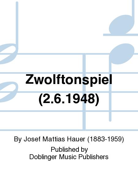 Zwolftonspiel (2.6.1948)