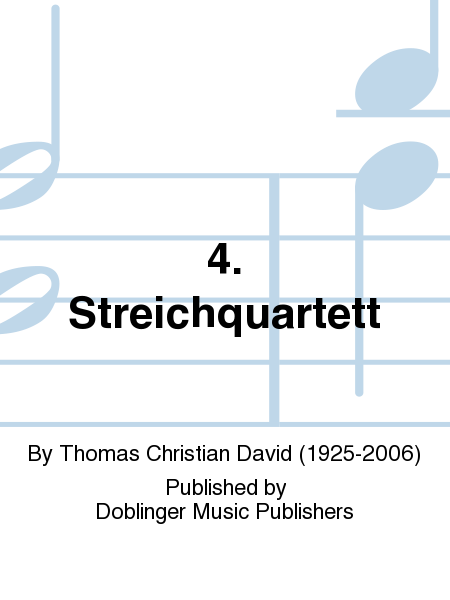 4. Streichquartett