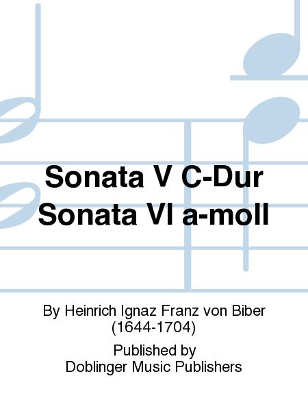 Sonata V C-Dur Sonata VI a-moll