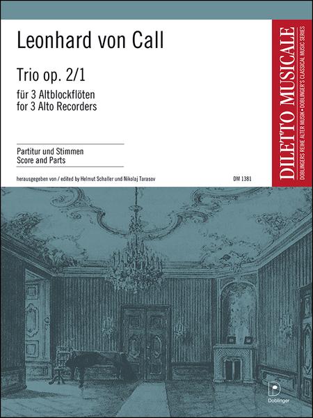 Trio op. 2 / 1